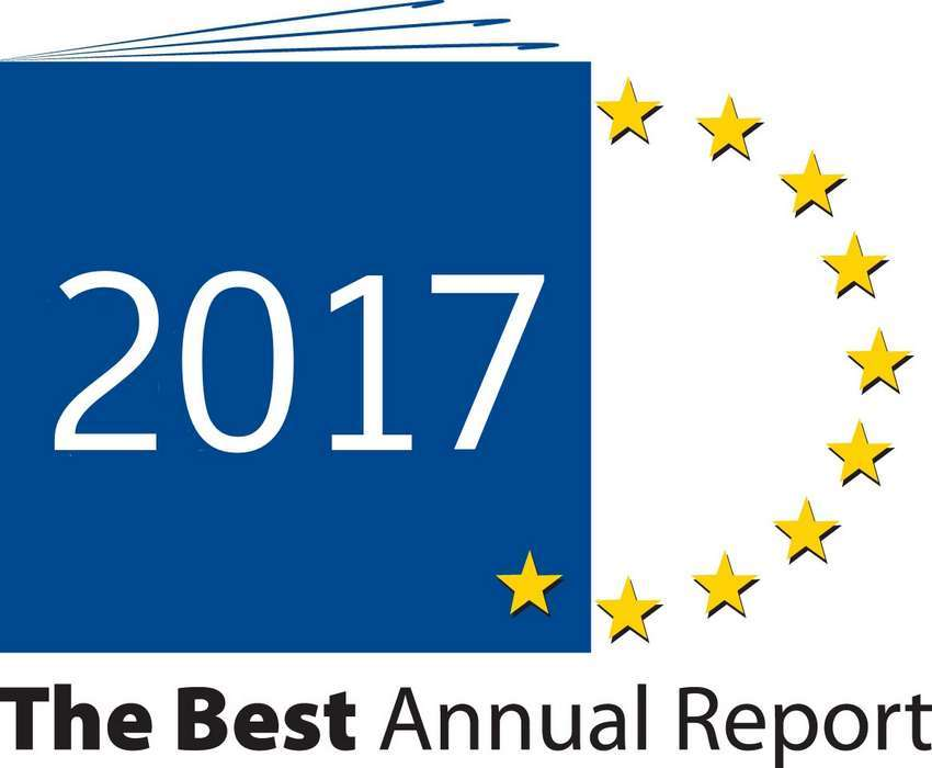 "Logo ""The Best Annual Report 2017"""