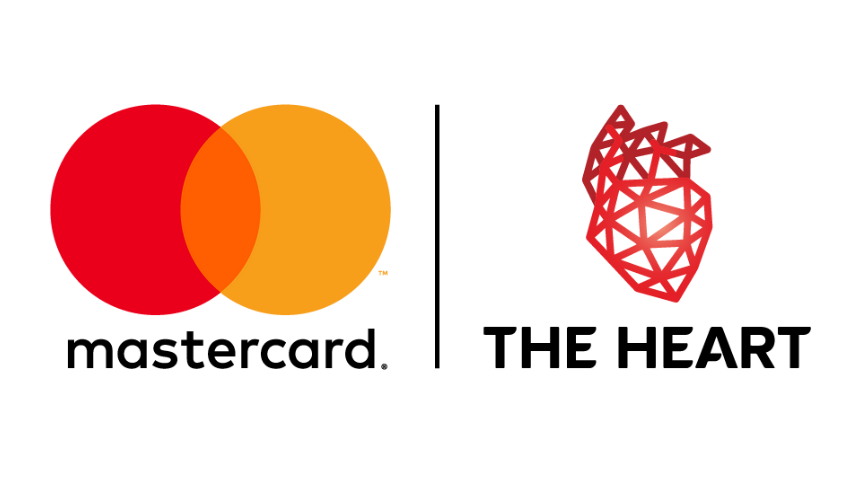 Logo Mastercard i The Heart