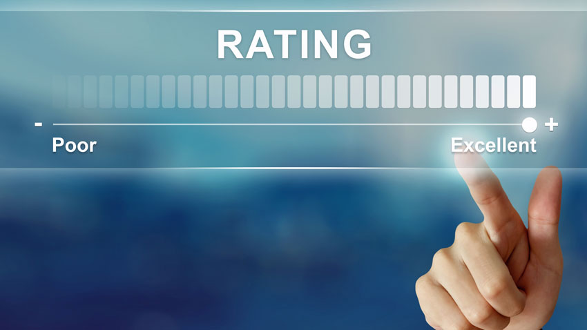 Napis: rating