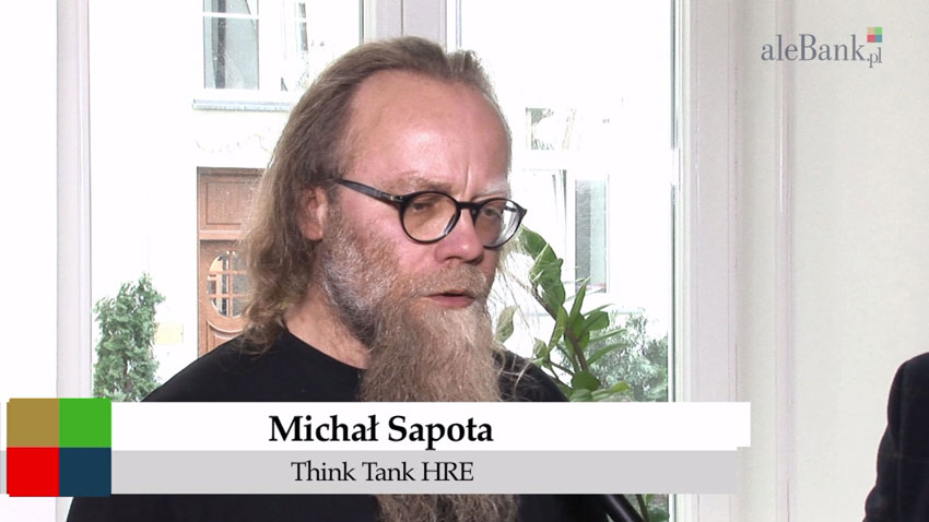 Michał Sapota, Think Tank HRE