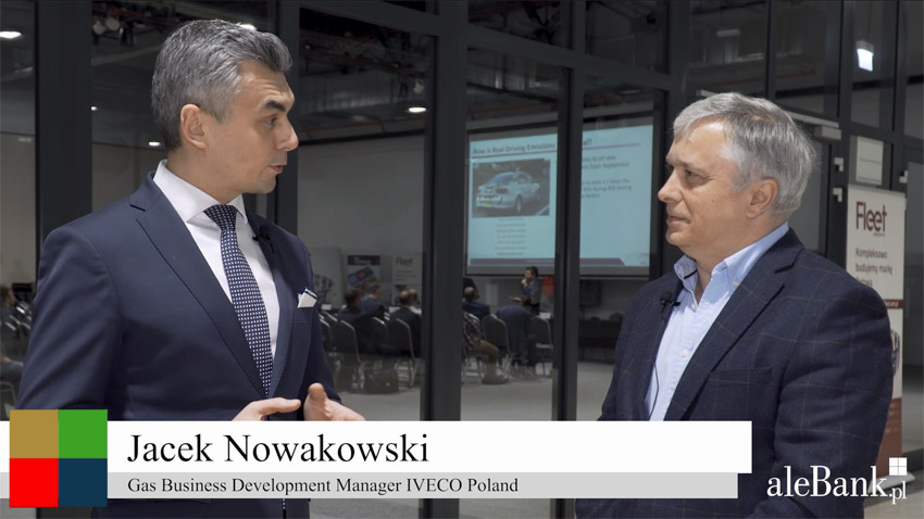 Jacek Nowakowski, Gas Business Development Manager, IVECO Poland,