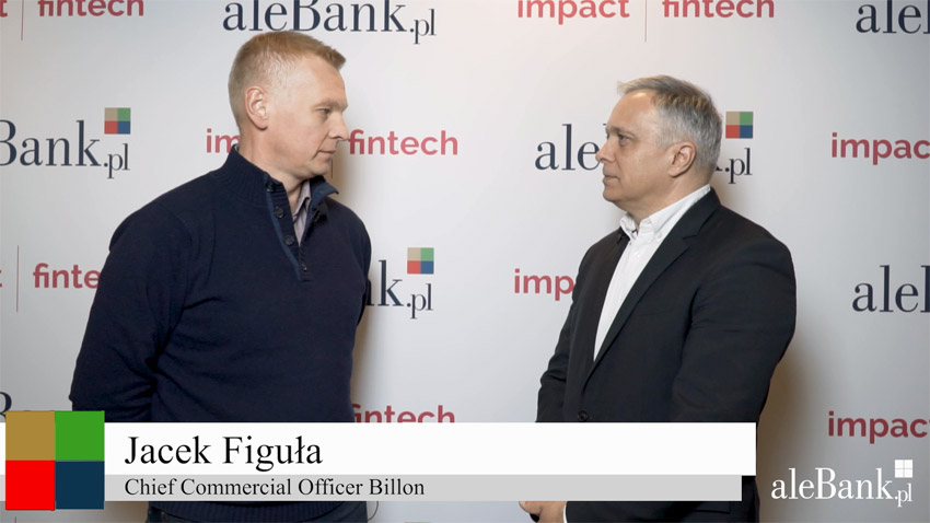 Impact Fintech 2019 Jacek Figuła, Chief Commercial Officer Billon.