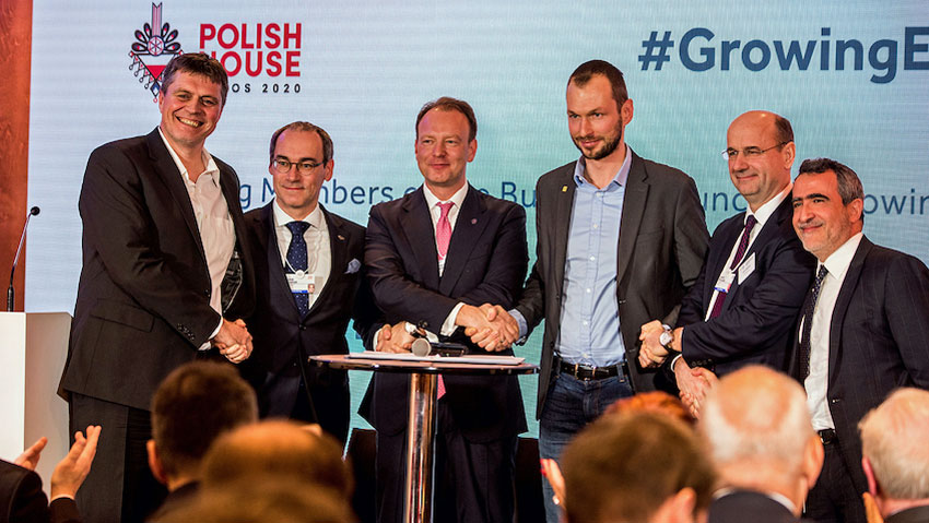 Podpisanie memorandum tworzącego Business Council of Growing Europe