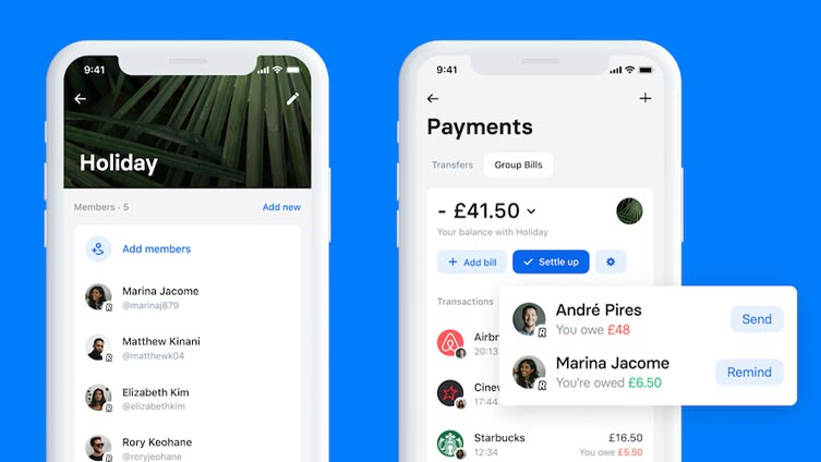 Group Bills w Revolut
