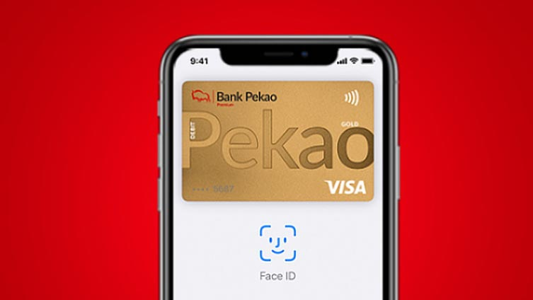 Apple Pay, Bank Pekao, Visa