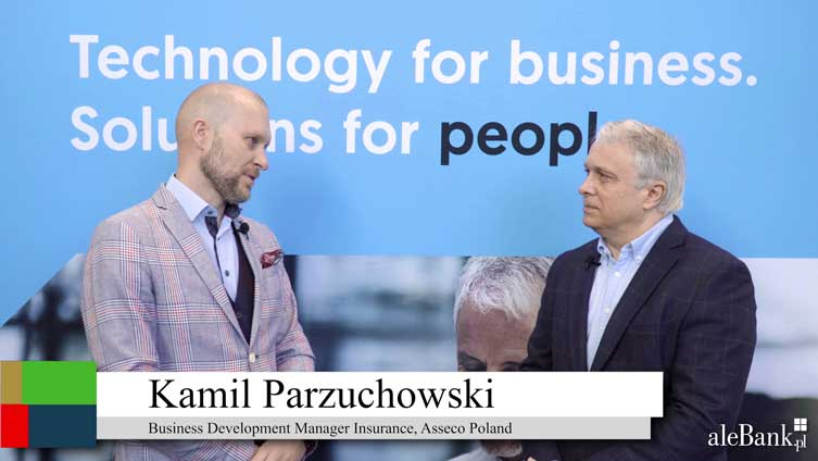 Will banks become purchasing platforms to survive? (Polish) Asseco Poland's  Kamil Parzuchowski [the bank as a broker for financial - and then other - services]...